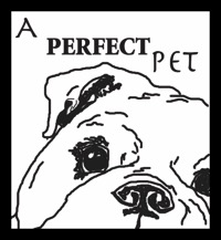 a perfect pet olde english bulldogges logo